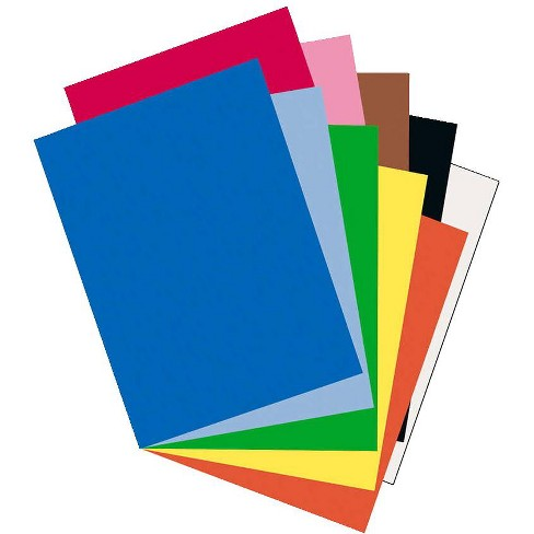 Riverside 3D Construction Paper, 18 x 24 Inches, Assorted Colors, pk of 50 - image 1 of 1