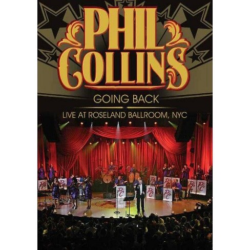 Phil Collins: Going Back Live at Roseland (DVD) - image 1 of 1