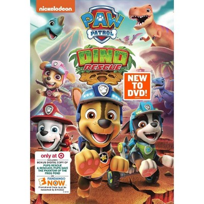 PAW Patrol: Dino Rescue (Target Exclusive) (DVD)