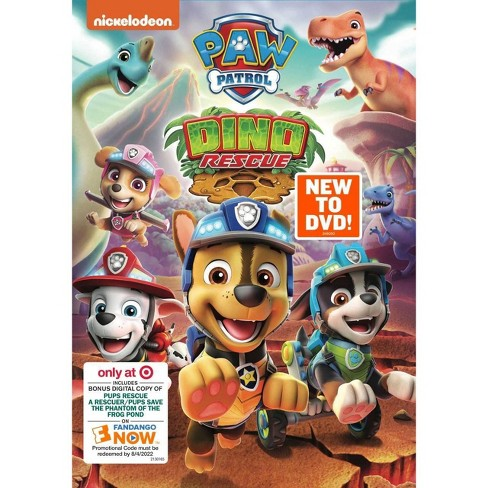 PAW Patrol: Dino Rescue (Target Exclusive) (DVD) - image 1 of 1