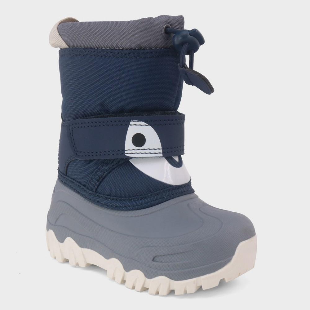 Toddler Boys' Bernardo Penguin Winter Boots - Cat & Jack Gray 8