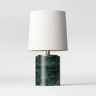 Clear Resin Accent Lamp Green - Project 62™