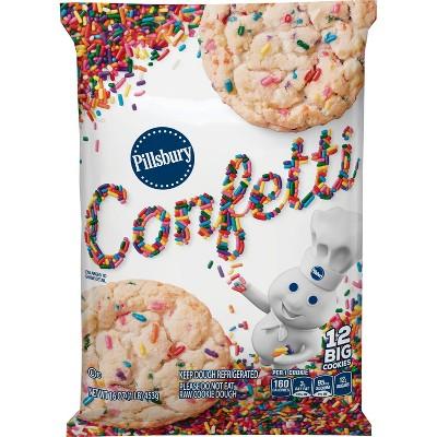 Pillsbury Confetti Big Cookies - 16oz/12ct