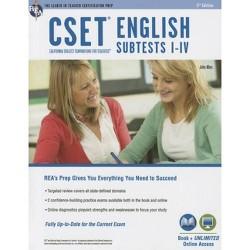 CSET English Test Prep - By Cset English Study Book Prep