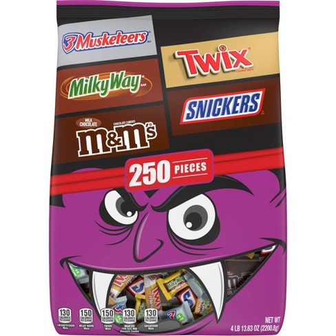 M&M's, Snickers, Twix & More Halloween Variety Pack - 77.63oz/250ct - image 1 of 4