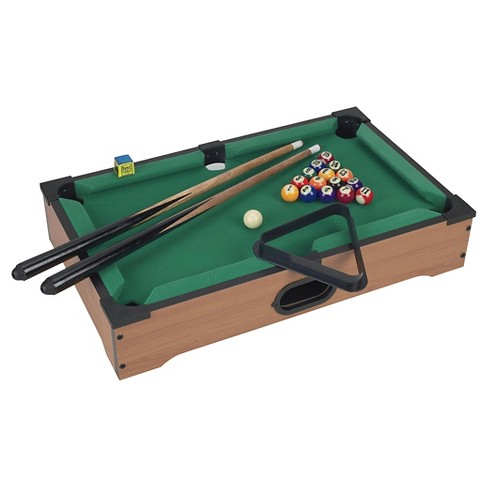 Mini Tabletop Pool Set Target - Mini billiards table set
