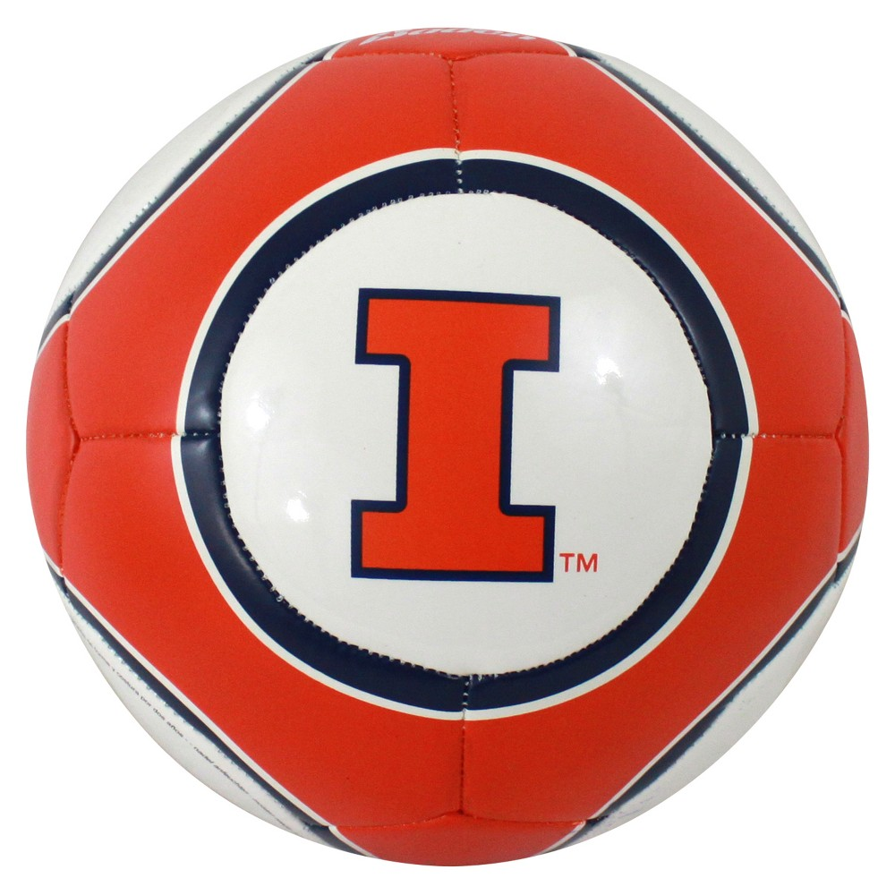 Illinois Fighting Illini Official Composite Youth Soccer Ball - Size 4
