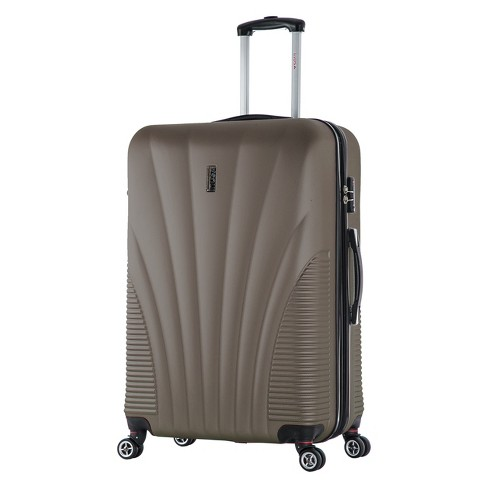 "InUSA Chicago 29"" Hardside Spinner Suitcase - Brown - image 1 of 6"