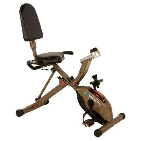 Exerpeutic Gold 525XLR Folding Recumbent Exercise Bike - image 1 of 17