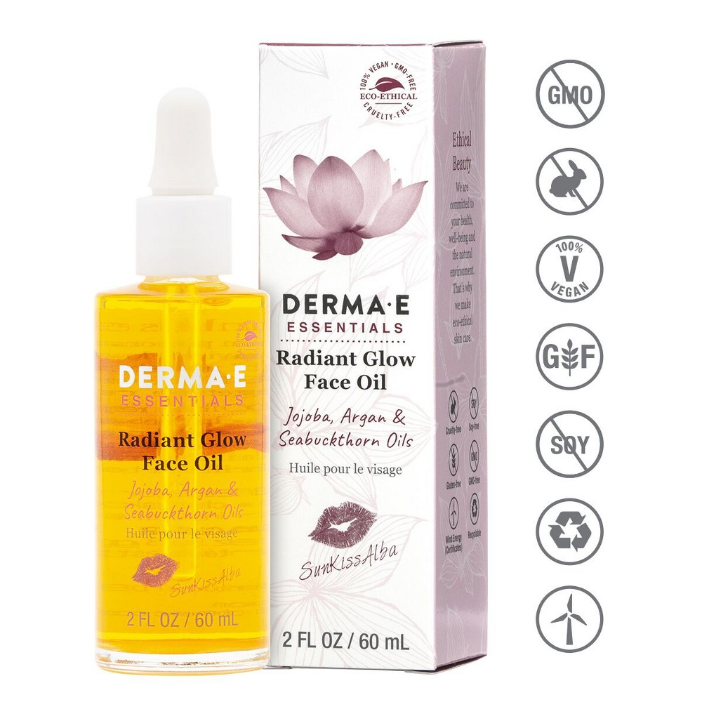 Image of DERMA E Sunkiss Alba Face Oil - 2oz