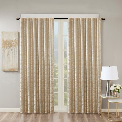 Aurora Jacquard Total Blackout Panel