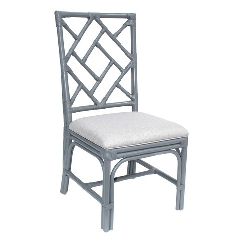 Set of 2 Riana Rattan Dining Chair Cream - East At Main - image 1 of 1