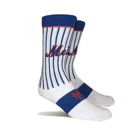MLB New York Mets Uniform Premium Crew Socks - image 1 of 2