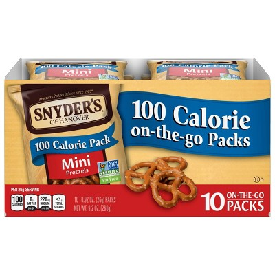 Snyder's Of Hanover 100 Calorie Pretzels - Mini - 10pks
