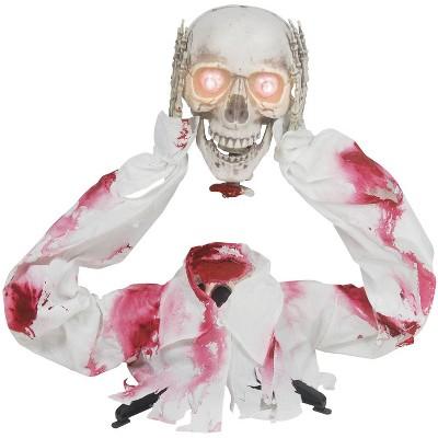 "26"" Groundbreaker Head Off Skeleton Halloween Decorative Holiday Scene Props"