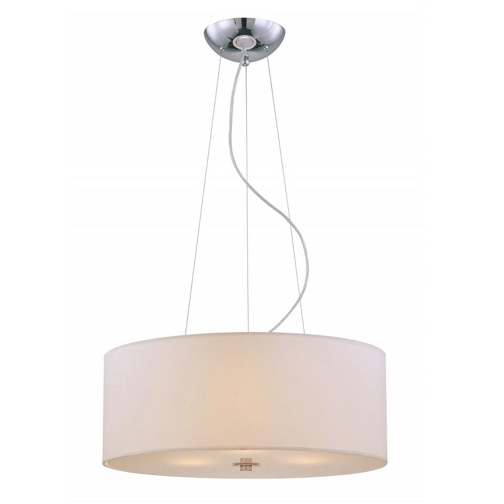Lite Source Incandescent B Ceiling Light - Silver
