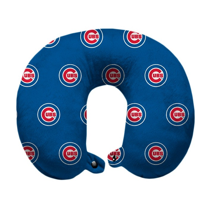 MLB Chicago Cubs Travel Pillow - image 1 of 1