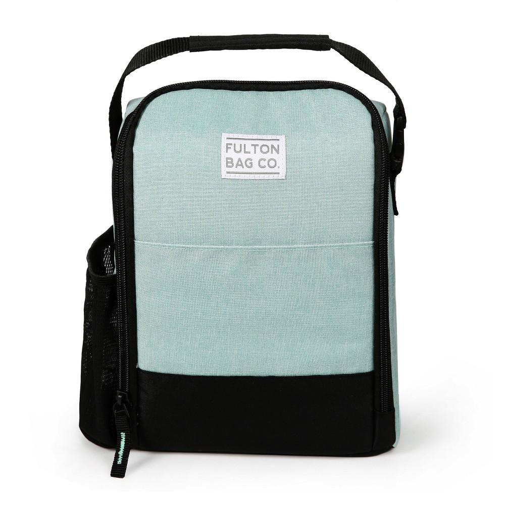 Fulton Bag Co. Lunch Bag - Pastal Green, Pastel Green