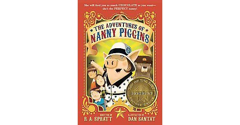 Adventures of Nanny Piggins (Reprint) (Paperback) (R. A. Spratt) - image 1 of 1