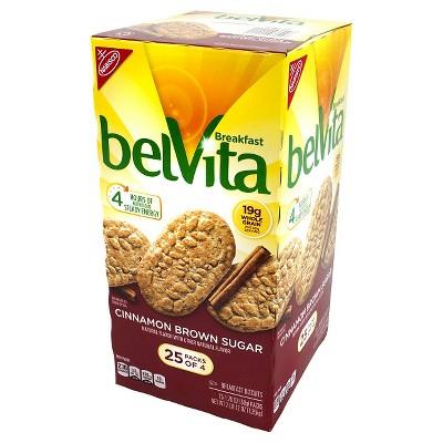 belVita Cinnamon Brown Sugar Breakfast Biscuits - 20ct