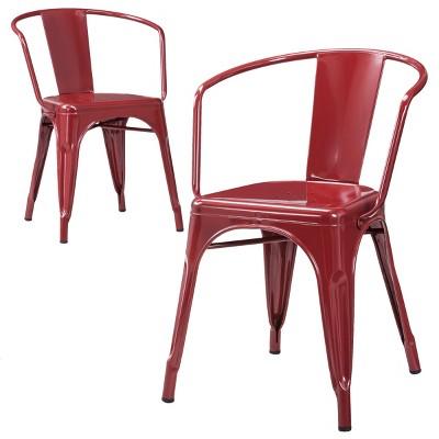 Attirant Carlisle Metal Dining Chair   Threshold™ : Target