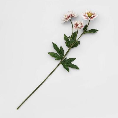 "26"" Artificial Rose Stem Purple/White - Opalhouse™"