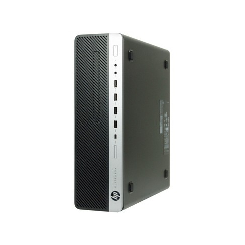 HP 800 G3-SFF Certified Pre-Owned PC, Core i5-7500 3.4GHz, 16GB Ram, 512GB SSD, DVD, Win10 Pro (64-bit) Manufacturer Refurbished - image 1 of 3