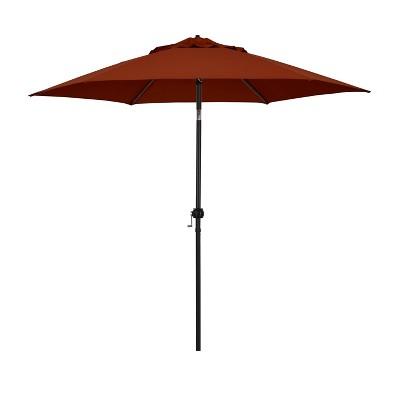 9' Patio Umbrella - Steel Pole with Push Tilt Brick - Astella
