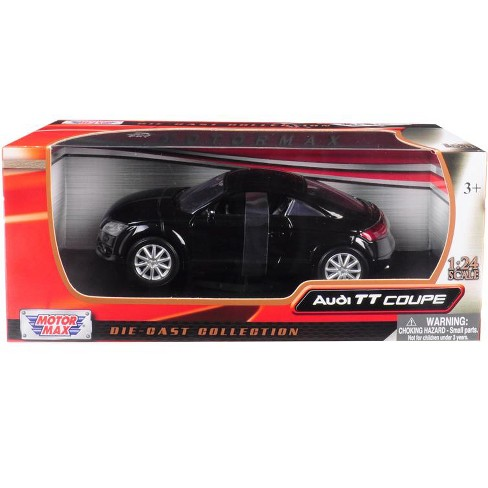 Audi TT Coupe Black 1/24 Diecast Model Car by Motormax - image 1 of 1
