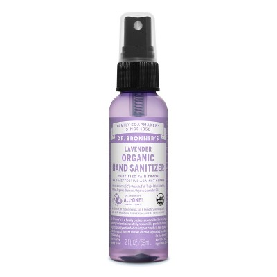 Dr. Bronner's Lavender Hand Sanitizer - 2 fl oz