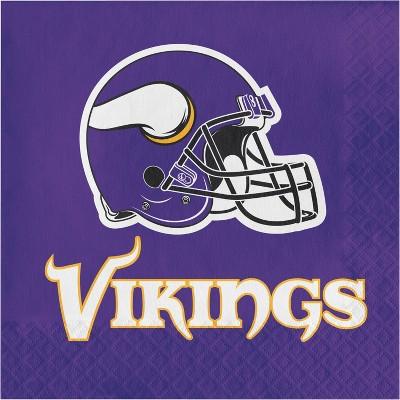 48ct Minnesota Vikings Football Napkins