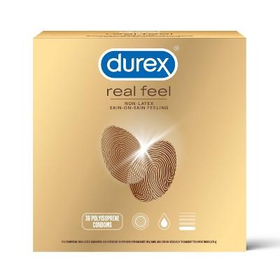 Durex Real Feel Value Pack - 36ct