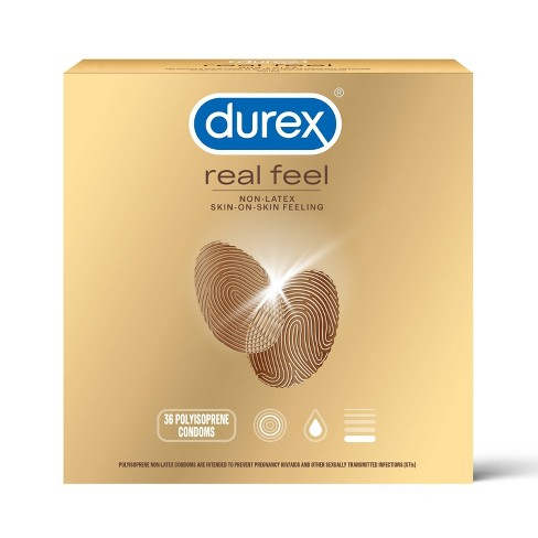 Durex Real Feel Value Pack - 36ct - image 1 of 4
