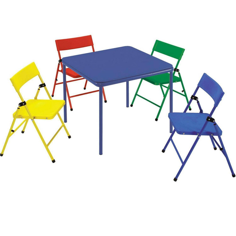 Image of 5pc Kids' Folding Chair and Table Set - Room & Joy
