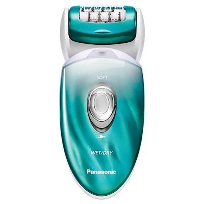 Panasonic Wet & Dry Women's 5pc Rechargeable Electric Epilator/Shaver Combo - ES-ED70-G