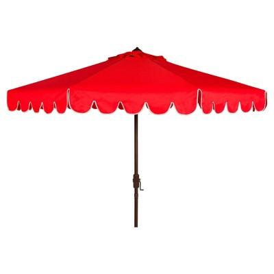 9' Venice Auto Tilt Crank Umbrella - Safavieh