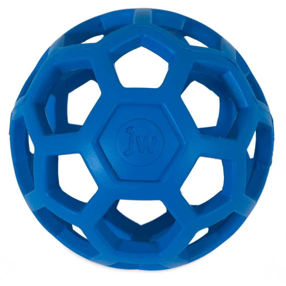 JW Hol-ee Roller - Medium, Multi-Colored Hol-EE Roller is a fun, versatile toy with the durability you've been searching for. Rubber gives it strength, bounce and a soft texture The unique open design allows you to stash small treats or kibble inside for hours of entertainment for your dog. JW Pet Hol-EE Roller Dog Toy is a non toxic, durable, natural rubber, super-stretchy multipurpose dog toy. It's a fantastic treat ball, wonderful training aid, great for fetch, toss and tug, chewing and teething. Color: Multi-Colored.