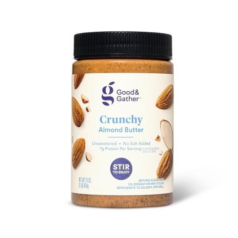 Stir Crunchy Almond Butter 16oz - Good & Gather™ - image 1 of 2