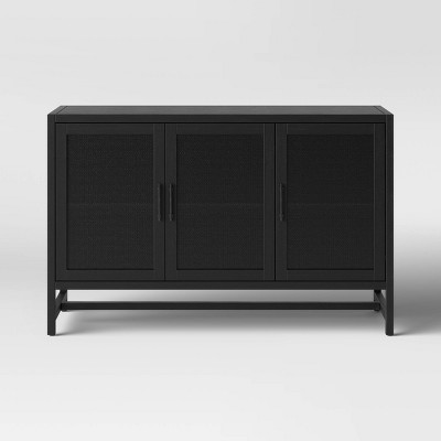 """Warwick 3 Door Accent TV Stand for TVs up to 59"""" - Threshold™"""