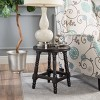 Genoa End Table - Wood - Deep Walnut - Christopher Knight Home - image 2 of 4