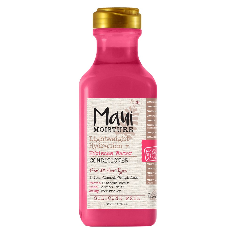 Image of Maui Moisture Lightweight Hydration Hibiscus Water Conditioner - 13 fl oz