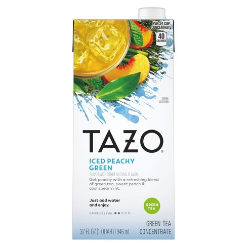 Tazo Iced Peachy Green Tea Concentrate - 32 fl oz - image 1 of 4