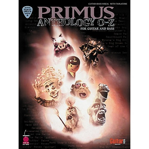Hal Leonard Primus Anthology O-Z Guitar & Bass Tab Book