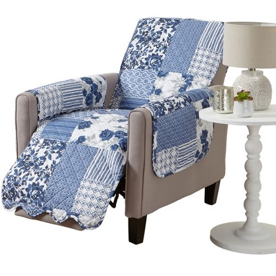 Great Bay Home Patchwork Recliner Furniture Protector