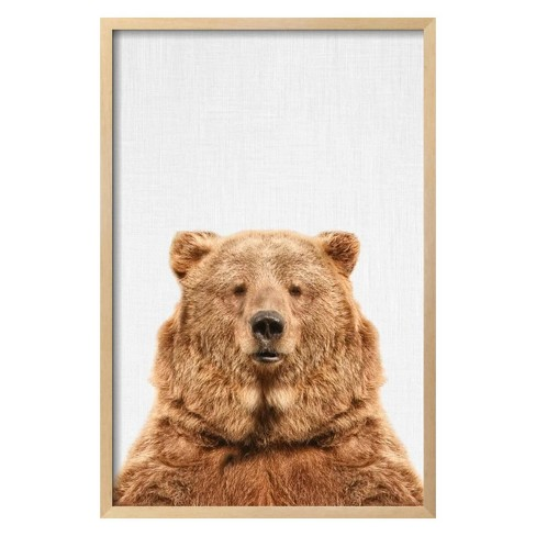 Bear by Tai Prints Framed Art Print - Art.com - image 1 of 3