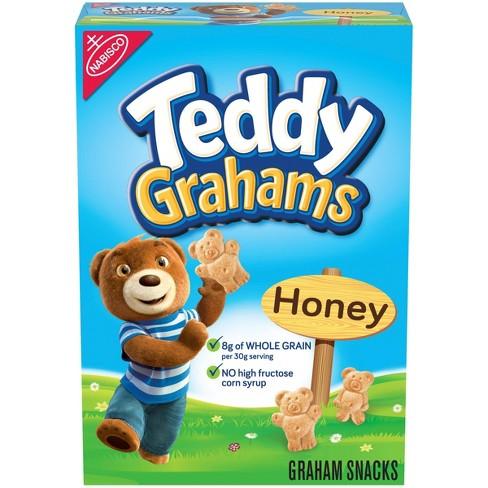 Teddy Grahams Honey Graham Snacks - 10oz - image 1 of 4