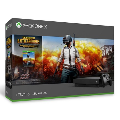 Xbox One X 1TB Playerunknown's Battlegrounds Bundle - image 1 of 12
