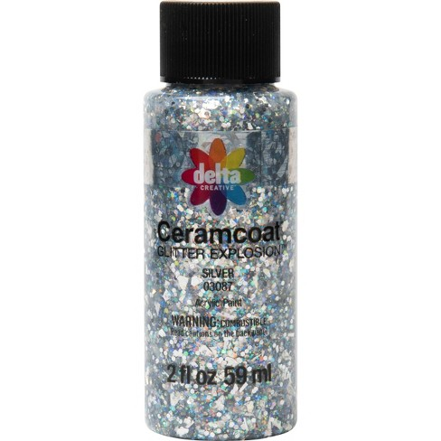 Delta Ceramcoat Glitter Explosion Acrylic Paint (2oz) - image 1 of 3