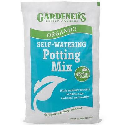 Organic Self-Watering Potting Mix - Gardener's Supply Company