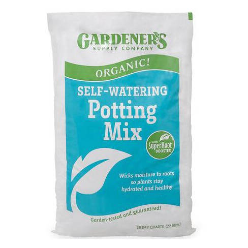 Organic Self-Watering Potting Mix - Gardener's Supply Company - image 1 of 2